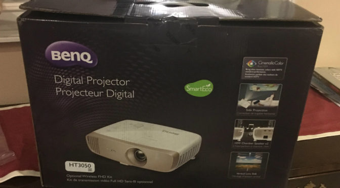 Benq HT3050 Digital Projector (Product Review)